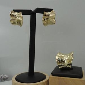 Anillos de aretes de YUMINGLAI establece Joyas Rusia Conjuntos de joyería artificial FHK10005