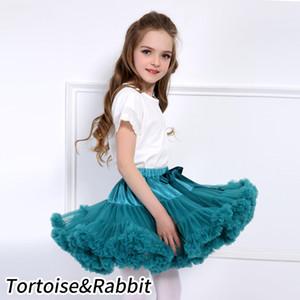 Baby Girls Tutu Skirt Fluffy Children Ballet Kids Pettiskirt Baby Girl Skirts Princess Tulle Party Dance Skirts For Girls Cheap