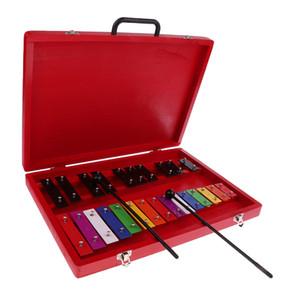 25 Töne Aluminium Xylophon mit 2 Schlägel Percussion Instrumente für Kid Musik-Rhythmus-Spielzeug