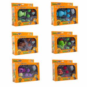 Растения против Зомби фигурка игрушки Кокосовой Cannon Peashooter AKEE съемки куклы в подарочной упаковке