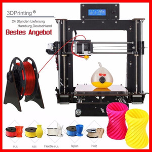 طابعة 3D Prusa I3 Reprap 8 DIY 2A Heatbed LCD Impresora 3D UK USA المالية