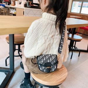 Kids Designer Bags Fashion Girls Letter Princess Messenger Bag Children One Shoulder Accessories Purse Handbags Women Mini Bag S671