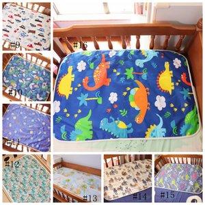 Blanke Cambio de estera Hoja de dibujos animados a prueba de agua Almohadilla de cambio de bebé Blanke Nappy Urine Pads Tabla Diaperes Juego Play Cover Infant Blanke HWC2141