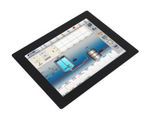 8 polegadas touch screen Bnc Input LCD LED Cliente segundo monitor monitor de toque