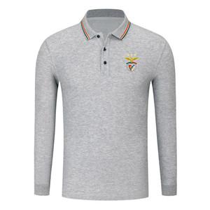 Бенфики 2020 Мужская футболка с длинным рукавом Мода Спорт Футбол Поло POLO Shirt Trend High отворотом ПОЛО бизнес рубашка