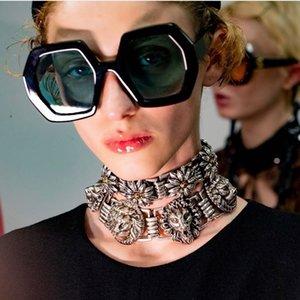 Marca Hombres Moda Retro Pierna ajustable Mujeres Mimiyou Gafas de sol Hexágono Gafas de sol Gafas de sol UV400 Sombras de anteojos TCGAD