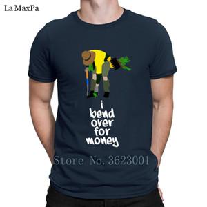 Divertente lettere T shirt Summer Tree Planter Bend Over prezzo T-shirt per gli uomini di base di divertimento Uomini manica corta T Shirt Carino