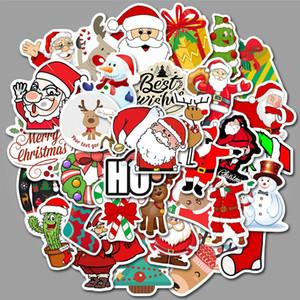 Natal Halloween impermeável adesivos Pack para Home Decor adesivo bomba portátil skate bagagem Bumper Car decalques aleatória Partten