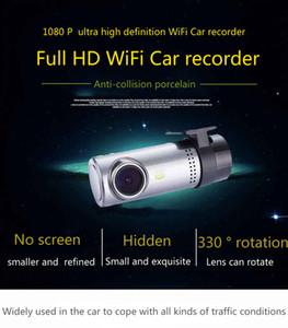 High quality Wifi Dash Camera Vehicle Car DVR Camera Video Recorder Dash Cam G-Sensor GPS Dual Lens Camera Wireless APPs Control