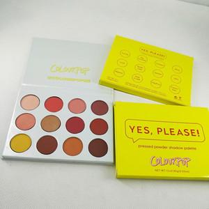 Makeup eyeshadow Colourpop sweet talk pressed powder palette Colourpop you're pretty 12colors  pcs eye shadow free shipping