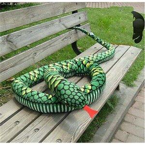 BİR PCS 2.8m simülasyon boa yılanı / yılan Peluş Hayvan Doll Yumuşak Oyuncak