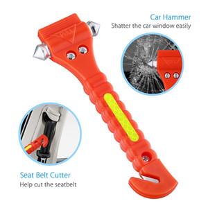 Neue Auto-Sicherheits-Hammer Notausstiegsprogramm-Werkzeug mit Auto-Fenster-Unterbrecher und Gurtschneider Life Saving Survival Kit