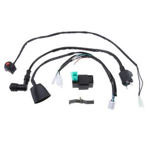 Cambie el juego de cables del arnés de muertes bici de la suciedad bobina de encendido CDI 110-140cc Pit