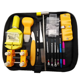 watch kit band link remover hands charger battery change watchmakers tools stainless steel professional repair tool case opener