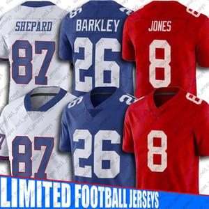 26 Saquon Barkley Jerseys New Daniel Jones YorkGiantJersey 87 Sterling Shepard 10 Eli Manning Jerseys 88 Evan Engram Football