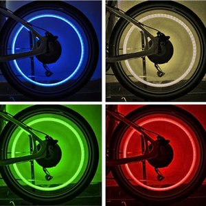 2pcs in bicicletta della gomma del pneumatico rotella luce istantanea della bicicletta la bici del motociclo della lampada Gainer YA88