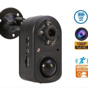 HD Mini камеры в режиме реального времени наблюдения обнаружения движения Loop Recording 1080P ночного видения Led HD Video Motion Detect камеры