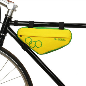 Bike Bicycle Cycling Bag Front Tube Frame Phone Mountain Bicycle Bags Triangle Pouch Frame Holder Bycicle accessory