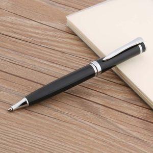 luxury quality metal 3035 Black streamline Silver piece Paint Ballpoint Pen Stationery Student Office school supplies