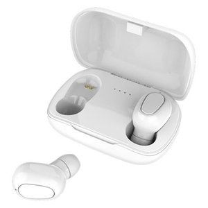 L21TWS Bluetooth 5.0 Headset In-Ear Stereo Sports Wireless Bluetooth Headset with Charging Compartment