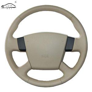 Cobertura de volante roda capa para Teana 2003-2008 Old Teana RENUALT Samsung SM5 / Custom Made Steering