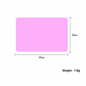 40x30cm Tapis silicone cuisson Liner Muiti fonction silicone Four Mat chaleur anti-dérapant Isolation Pad Kid Table Bakeware Set de table Decora EEA2019