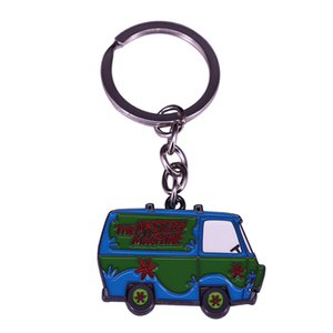 Scooby Doo Mystery Machine Metal Keychain Bring some fun to your boring pack of keys