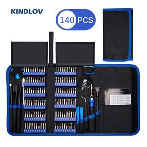 KINDLOV Präzisions-Schraubendreher-Set 140 In 1 CR-V Schraubendreher Magnetic Torx Hex-Schraubendreher-Bits Elektronik-Reparatur-Tool-Kit Bit