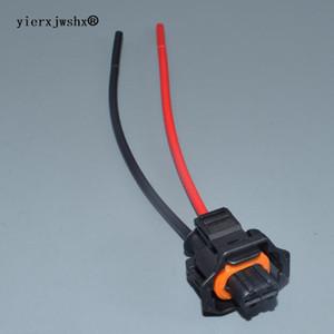 yierxjwshx 2 pinos da ficha automóvel Diesel Fuel Common Rail Injector Cambota Sensor feminina Connector Para 1928403874 carro