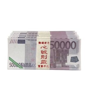 Euro ancestor money Joss Paper Money Chinese Hell Bank Notes for Funerals The Hungry Ghost Festival 400pcs Per Dozen