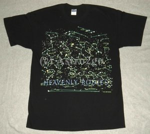 Heavenly Bodies-Stars Constellations Space Science Astronomy 2-Sided Glow T Shirt Summer Men High Quality Nerd T Shirts