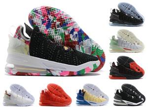 2020 Mais recente Shoes Men LeBrons XVIII PE 18 18 18S Mens Jameses Basquetebol Rapazes Mulheres Zoom Esporte Sneakers Tamanho 7-12