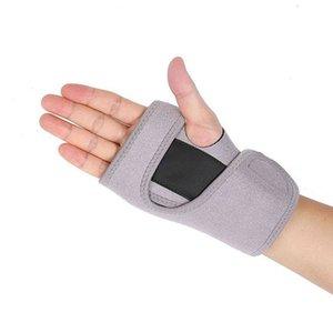 New Bandage Orthopedic Hand Brace Wrist Support Finger Splint Carpal Tunnel Syndrome gray