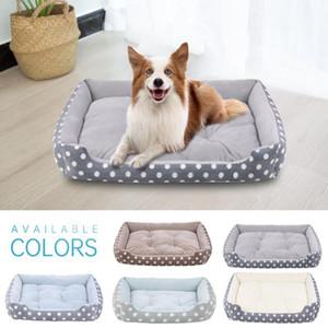 Çıkarılabilir Pad Yavru Kedi Yatak Pet sıcak ve rahat Mattress ile Pet Dog Yatak Kedi Ve Köpek Peluş Yatak