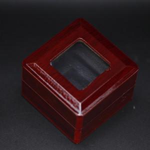 HOLDING ONE RING ДЕРЕВЯННЫЙ Ясное дело ЧЕМПИОНАТ RING DISPLAY BOX