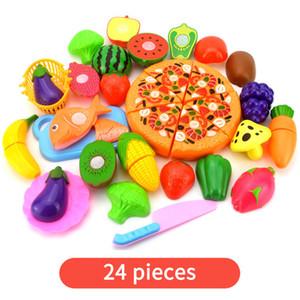 17 * 26 * 13см Прочный 12 / 24pcs Set Обучающие игрушки Малые игрушки Установить Дети подарки на день рождения Смешные случайный цвет Пластиковые игрушки Играть дом