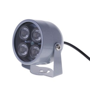4 LED Infrared Night IR Vision Light illuminator Lamp For IP CCTV CCD Camera New G92E