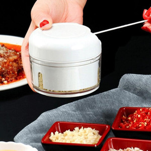Çok fonksiyonlu Gıda Chopper Sarımsak Kesici Sebze Kesme Makinesi Speedy Chopper Araçları Manuel Mini Et Kıyma Mutfak Aracı DHL ücretsiz