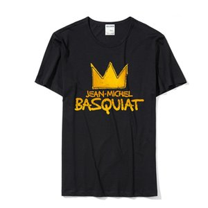 Jean Michel Basquiat T Shirts For Men 2018 Rock T-Shirt Comfortable Men Tee Shirt With S