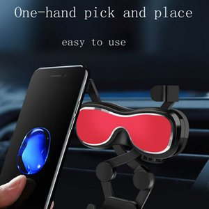 360 Rotating Adjustable Mini Portable Car Air Vent Dashboard Gravity Aromatherapy Car Mount Mobile Phone Holder