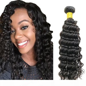 Deep Curly Wave Brazilian Virgin Hair Uprocessed Human Virgin Hair Extensions Weft 3 or 4 Bundles Indian Deep Wave