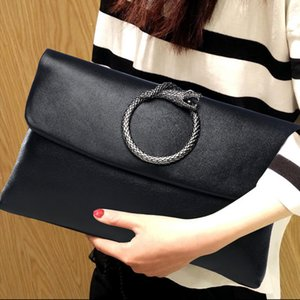 Hand wrapped women 2020 new women's bag large capacity soft leather first layer leather temperament envelope bag
