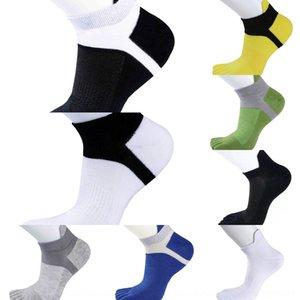 fVRj8 Finger protection de Protection des bateaux de l'homme bateau Cinq chaussettes avec l'été de chaussettes de sport et de couleur respirant résilles sudoripares
