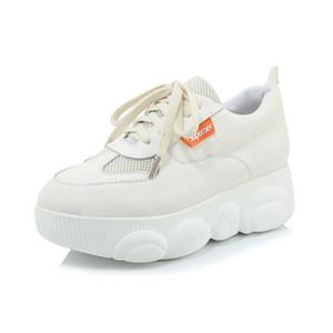 Früher Frühling im Jahr 2020 neu dicken Boden Chalaza Freizeit bequeme einzelne Schuhe 29-46