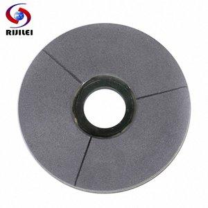 RIJILEI 5-10 polegadas Black Diamond moagem disco 125-250mm BUFF Superfície de mármore Polimento Pad Granite Resina Polishing Disc BG02 enfrente #