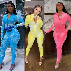 2020 Sonbahar Ve Kış Yeni Liste Moda Kadın Giyim Seksi Fermuar Big Pit Jumpsuit İnce Casual