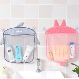Baby Bathroom Mesh Bag for Bath Toys Bag Kids Basket for Toys Net Cartoon Animal Shapes Waterproof Cloth Sand Beach Storage