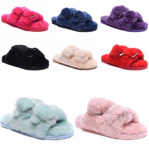 Neue Art und Weise Frauen-Damen nach Hause Fußboden weiche Pantoffeln Female Cotton-gepolsterte Schuhe Winter weiche warme Pantoffeln Schuhe