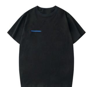 عارضة 100٪٪ رجل القمصان الأبيض المضادة للانكماش المرأة القمصان جديد أزياء الرجال الكورية نمط الجرافيك قمم 2020 أنثى تي شيرت، هبوط السفينة