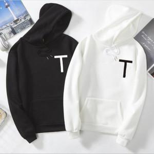 s-5XL Oversize 2021 Yeni Moda Erkekler Ve Kadınlar Kapüşonlular Erkekler Tişörtü İlkbahar Sonbahar Katı Renk Hip Hop Streetwear kapüşonlu Man Giyim